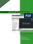 CADWorx 2013 Specifications