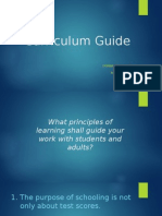 curriculum guide