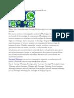 Descargar WhatsApp Gratis Pronto Apoyar Mensaje de Voz