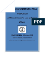 Www.universityofcalicut.info_SDE_B Com -VI Sem.- Additional Course - Business Communication
