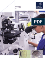 MSc Clinical Embryology Oxford Brochure