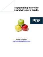 MySQL Programming Job Interview Preparation Guide