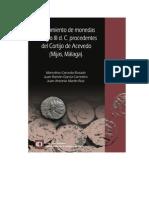 Ocultamiento de monedas del siglo III d. C. procedente del Cortijo de Acevedo, Mijas, Málaga.