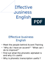 Effective Business English