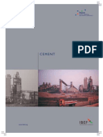 A Report on Cement Industry