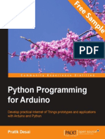 Python programming for Arduino - Sample Chapter