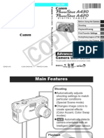 Canon PowerShot A430 Digital Camera User Manual