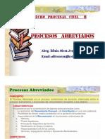 Procesal Civil 2 - Procesos Abreviados