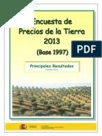 Encuesta Precios Tierra 2013 Tcm7-349643