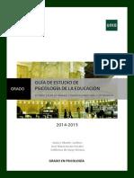 Psi Educación-Guía de Estudio Parte II 2014-2015