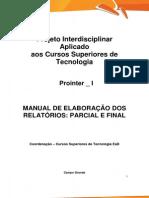 Prointer I 2015 1 A1 TECS Manual de Elaboracao