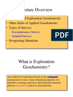 Geochemical Exploration I
