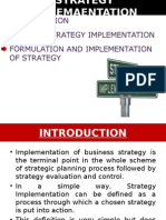 Strategy Implemaentation