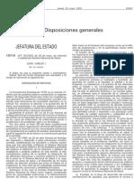 Ley 16 2003 Cohesión y Calidad del Sistema Nacional de Salud