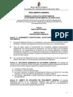 Reglamento General A.L.D. - Modificado 08-09-2010