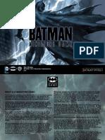 Batman Miniatures Game Rules Pdf
