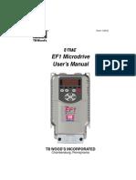 Vacon Ef1 User s Manual Dpd00285 Uk