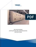 Vacon NXD Switchgear Installation Manual UD01111A
