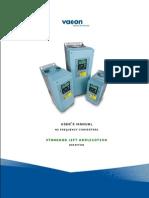 Vacon NX Lift Application Manual UD00758L En