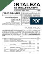 Diario Oficial do Municipio de Fortaleza 30012015