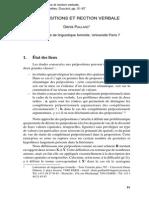 Paillard (Préposition Et Rection)