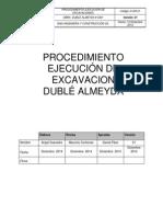 D-ER-01 Procedimiento Operacional Excavación Dublé Almeyda