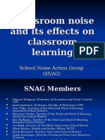 Noise_classroom_SNAG Overview