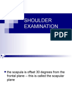 Shoulder Examination