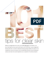 101 tips for cleare skin.docx