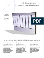 Luminária LED 500w