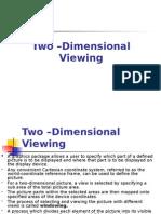 Lesson -2D Viewing
