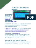 LCD Conexão e Exemplos (v1)