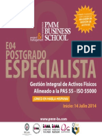 Postgrado Colombia en Gestion de Activos PAS 55 - IsO 55000