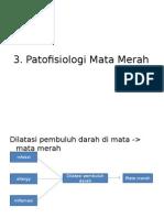 Patofisiologi mata merah