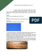 Angsa Terbang Dengan Formasi Berbentuk Huruf V