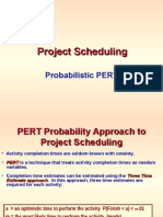 Project Scheduling -- Probabilistic PERT (1).ppt