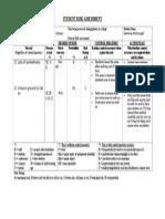 Lower Kitson Risk Assessment Form