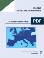 Inland navigation in Europe market observation