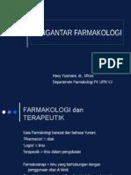 KULIAH DASAR FARMAKOLOGI (Farmakokinetik - Farmakodinamik).ppt