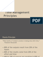 Time Management Principles