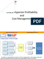 Oracle  Hyperion Profitability and Cost Management Building Blocks