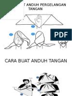 Cara Buat Anduh Pergelangan Tangan