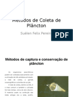 Métodos de Coleta de Plâncton