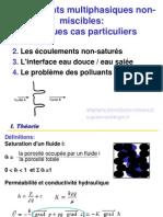 Cas Particuliers d'Écoulements Multiphasiques