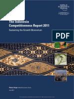 WEF GCR Indonesia Report 2011
