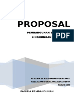 Proposal Drainase RT 02 RW 05