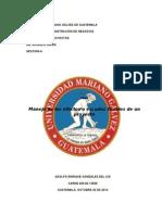 Manejo Del Escudo Fiscal
