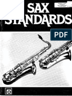 Sax Standards Duo Com Percussao