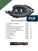 Halo Walk thorough