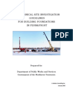 Geo Technical Guidelines